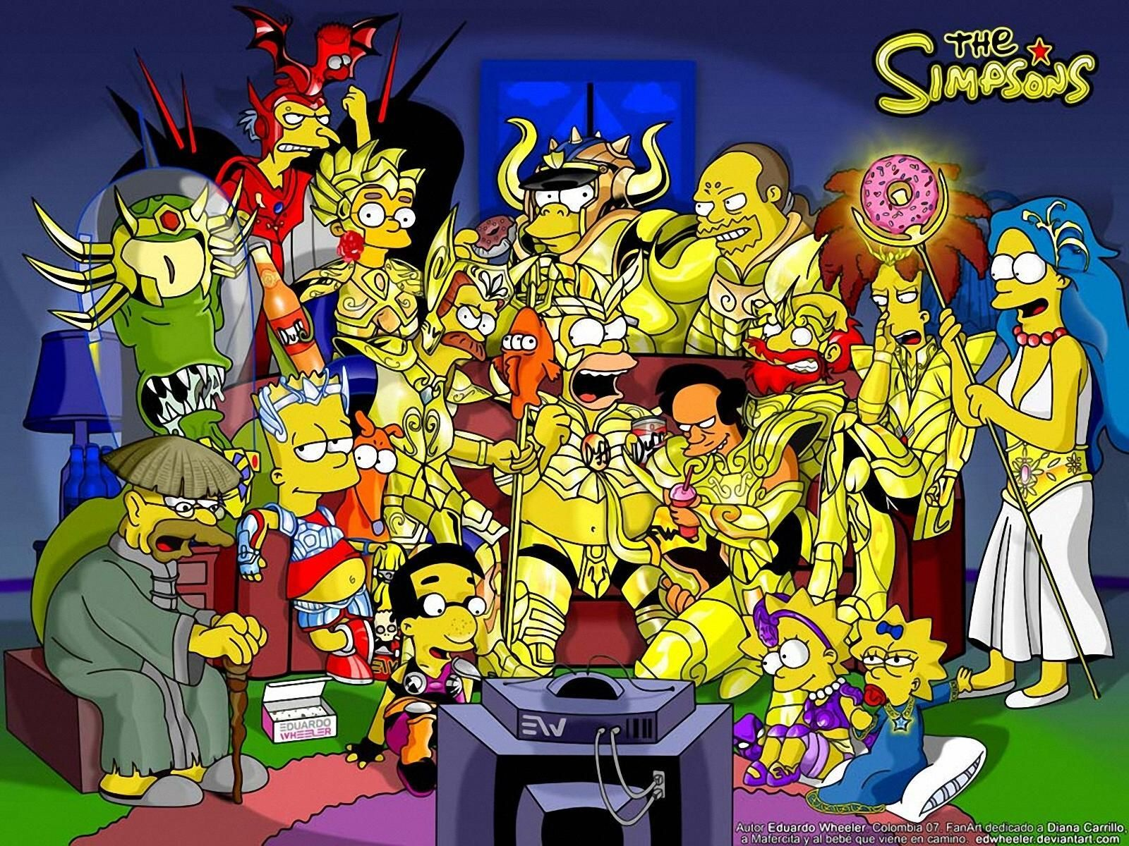 The Simpsons Simpsons Art The Simpsons Cartoon Wallpaper