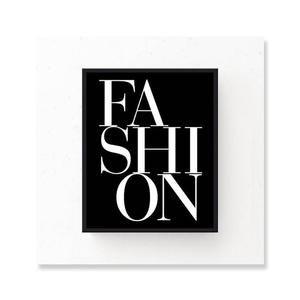Modern Fashion Quotes Retro Vogue Wall Art Black & White Nordic Style Salon Art Fine Art Canvas Prints For Modern Boutique Home Interior Decor