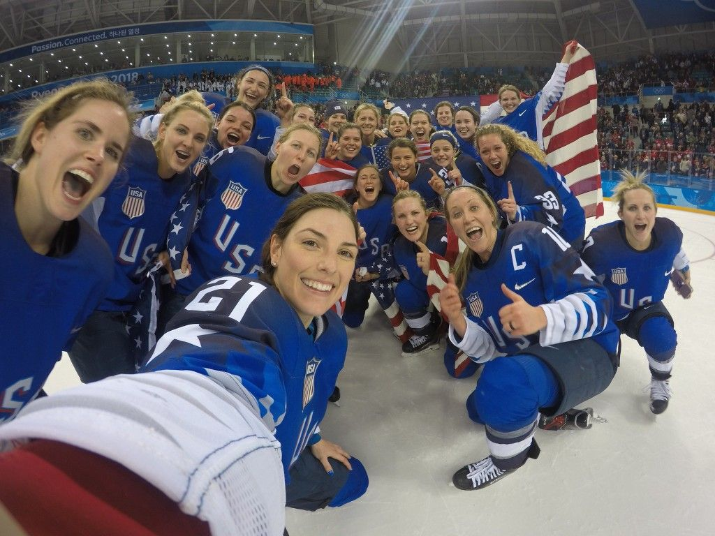 Usa Women S Hockey Team Wins Gold At Winter Olympics 2018 Hockey