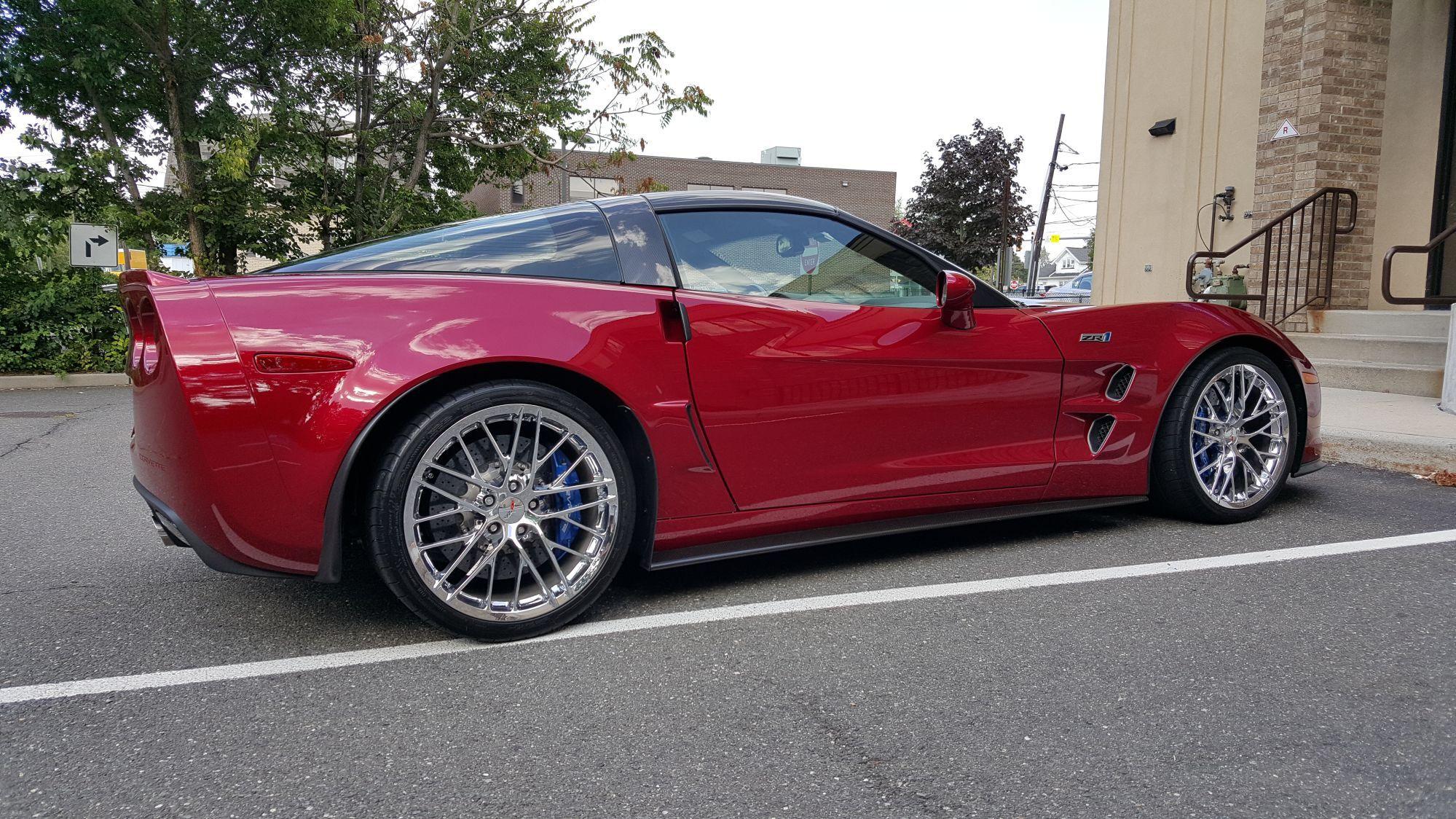 Crystal red color variation car to car corvetteforum chevrolet corvette forum discussion