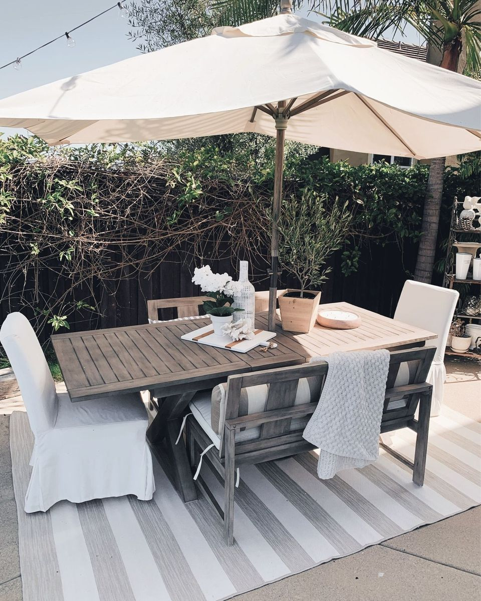 OUTDOOR DINING  Backyard furniture, Resin patio furniture