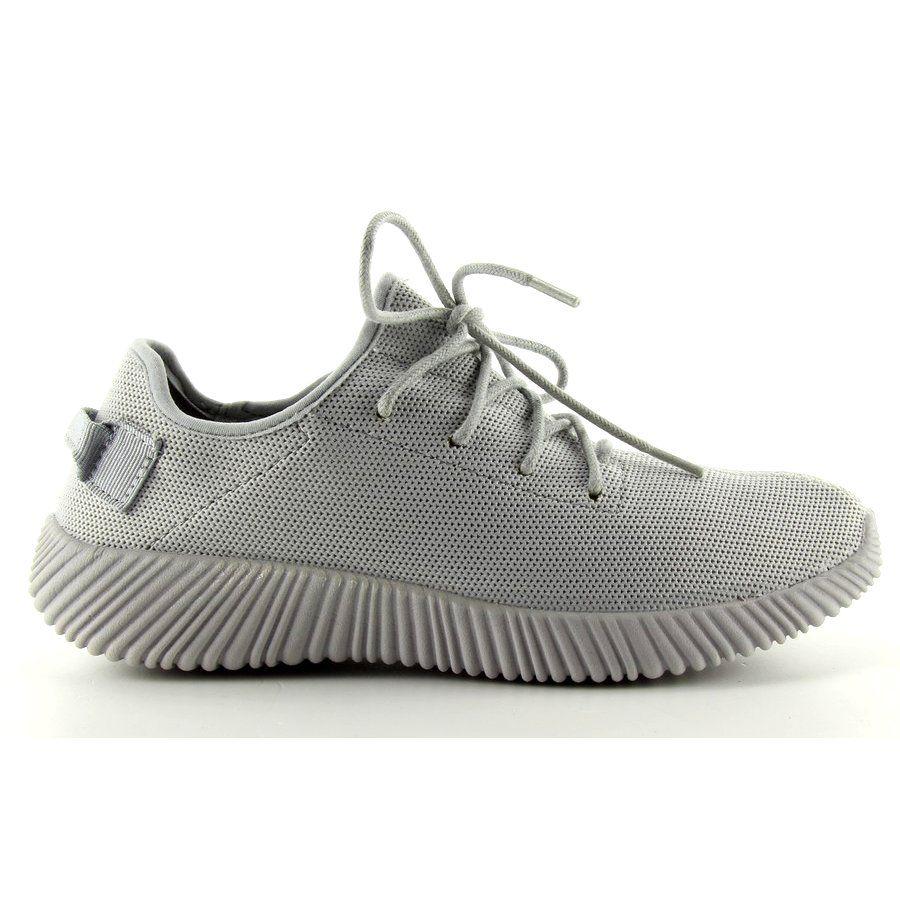 Sportowe Damskie Obuwiedamskie Szare Oblednie Wygodne Buty Sportowe 8187 Grey Obuwie Damskie Adidas Yeezy Boost Adidas Sneakers Sneakers