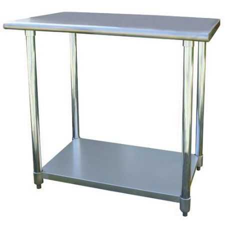 Prime Sportsman Series Stainless Steel Work Table 24 X 36 Gmtry Best Dining Table And Chair Ideas Images Gmtryco