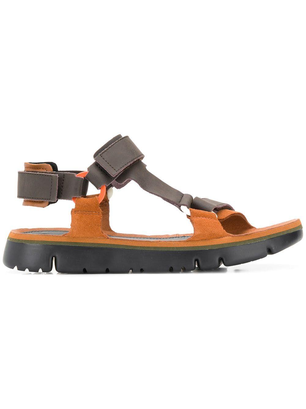 Oruga sandals | Brown sandals, Sandals, Camper