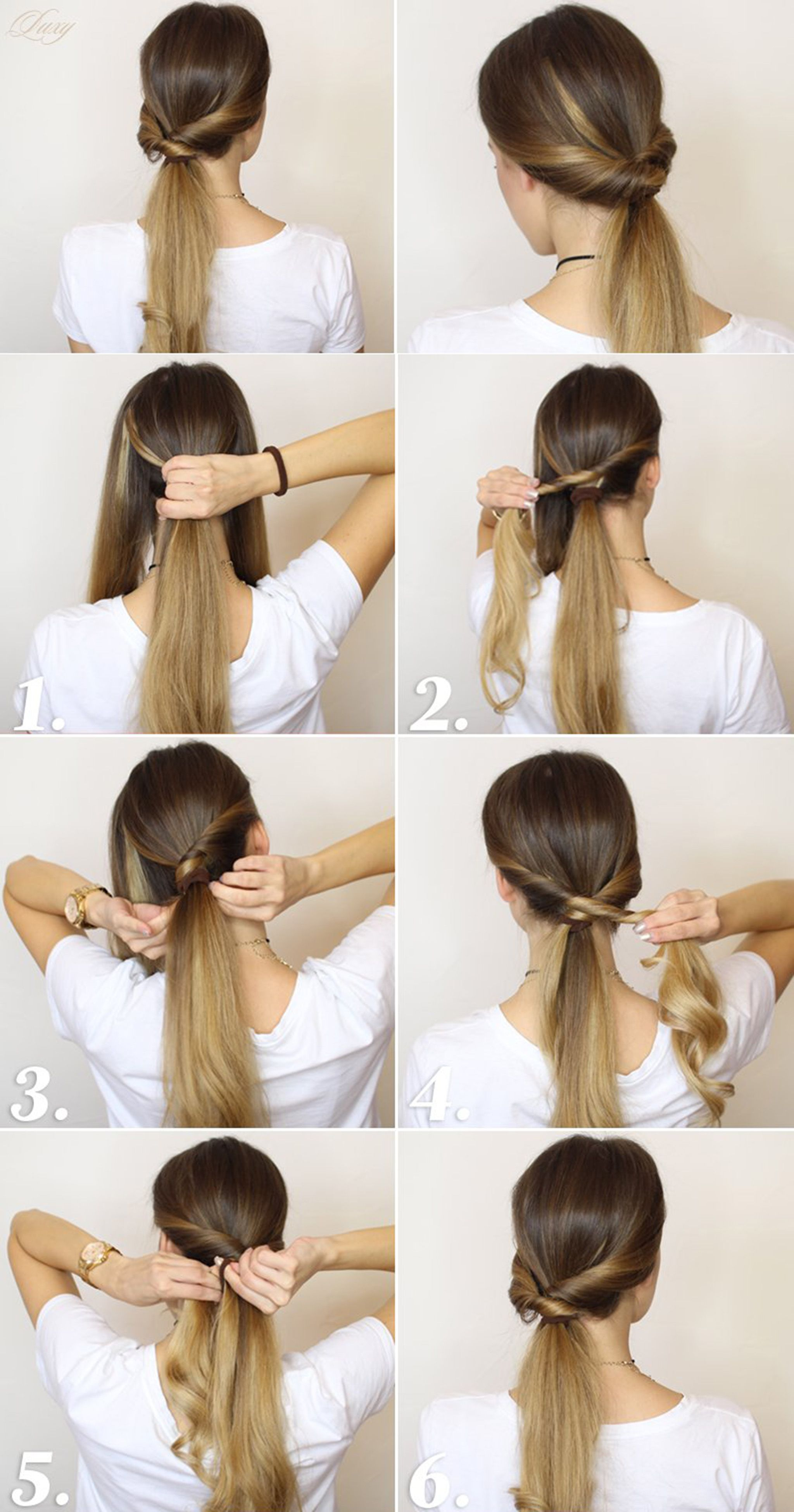 a fabulous collection of 10 easy hairstyle that only take 5
