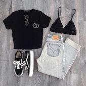 Summer outfit with jeans