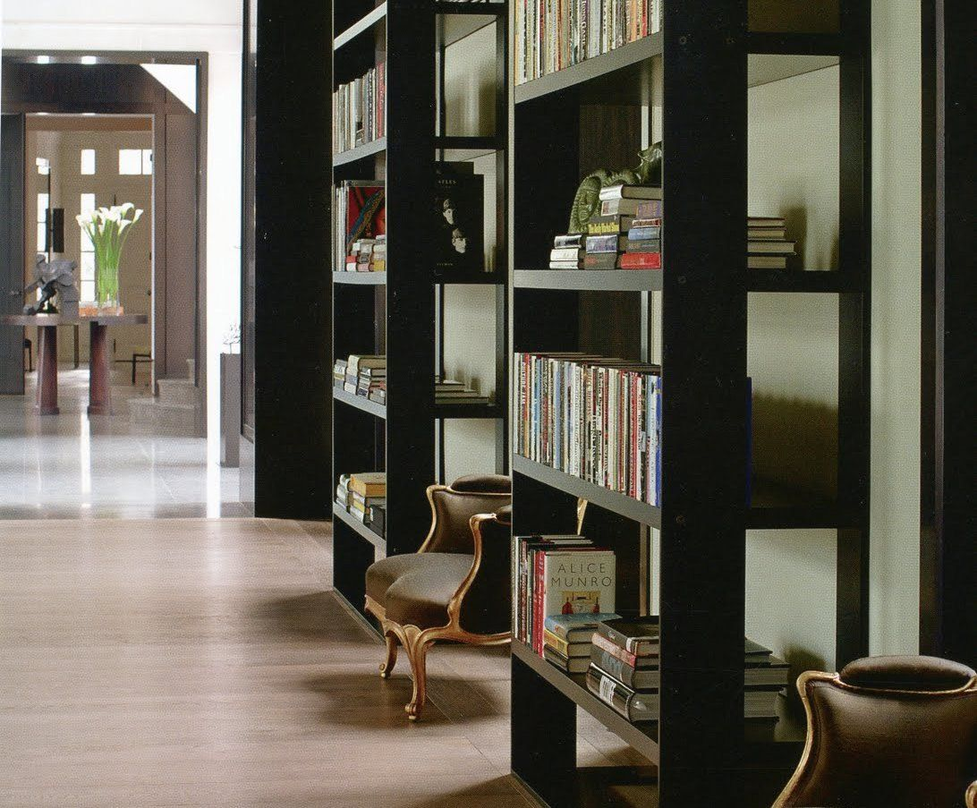 Bookcases Toronto I Like The Chunky But Open Bookcases Here Habitually Chic