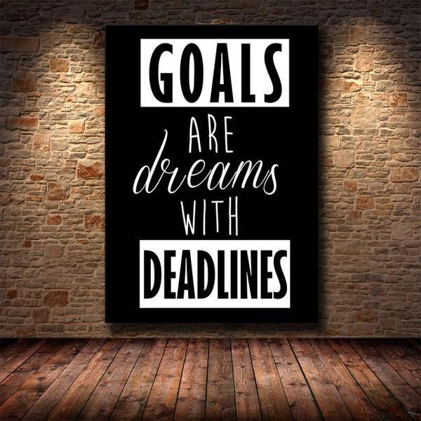 Office Decor Wall Art Motivational Phrases