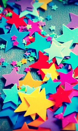 Colorful Stars Wallpaper Star wallpaper, Colorful