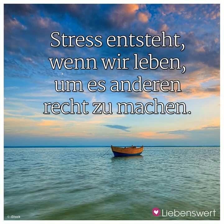 Stress Spruch Spruche Pinterest