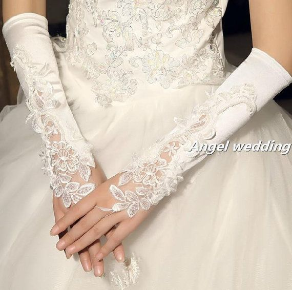 Bridal victorian  lace cuffs bridal cuffs by AngelWeddingDress, $28.00, perfect if I decide I don't want sleeves ;))