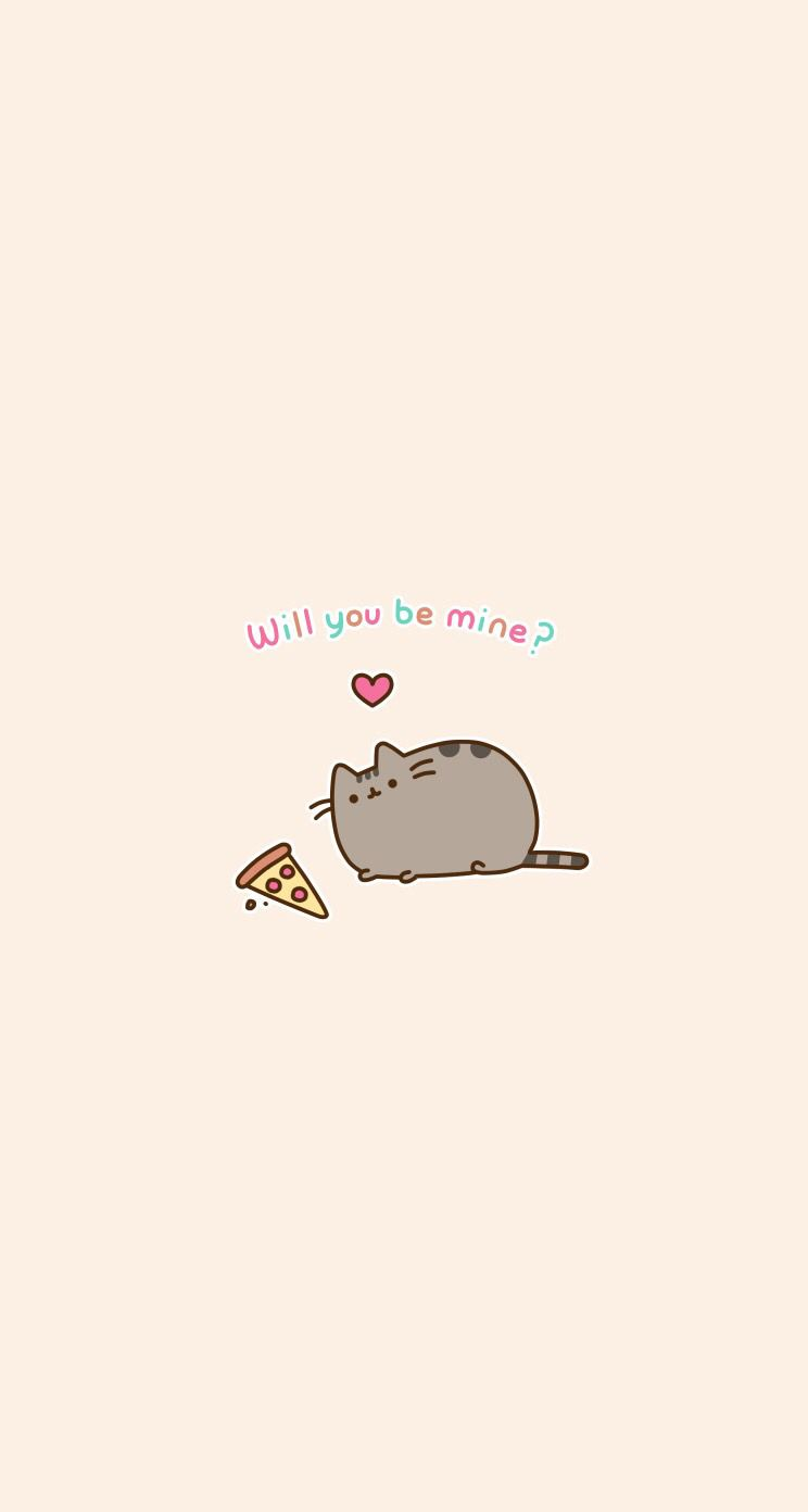 Pusheen Wallpaper Phone Background Pizza How Life Should Be In