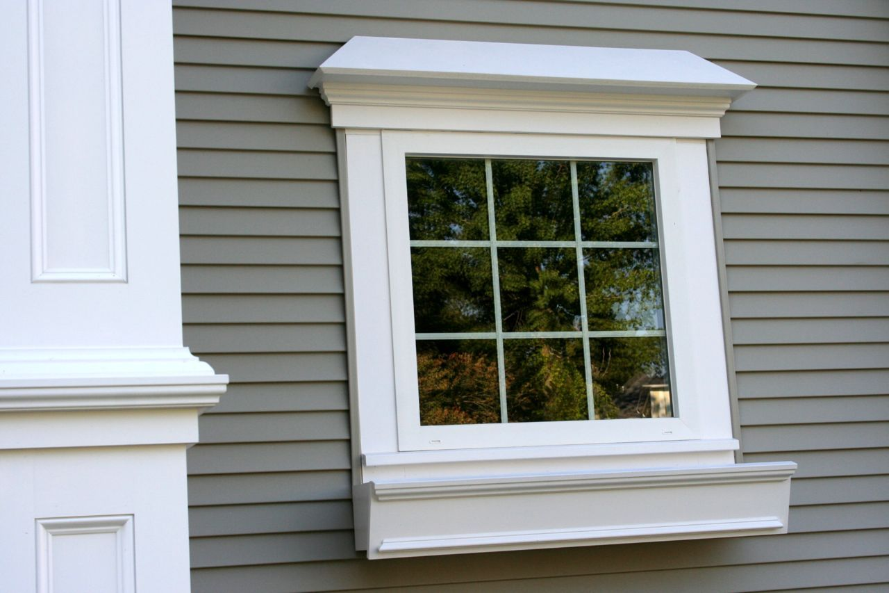 Window casing ideas  exterior trim ideas  per window molding trimmed in about exterior