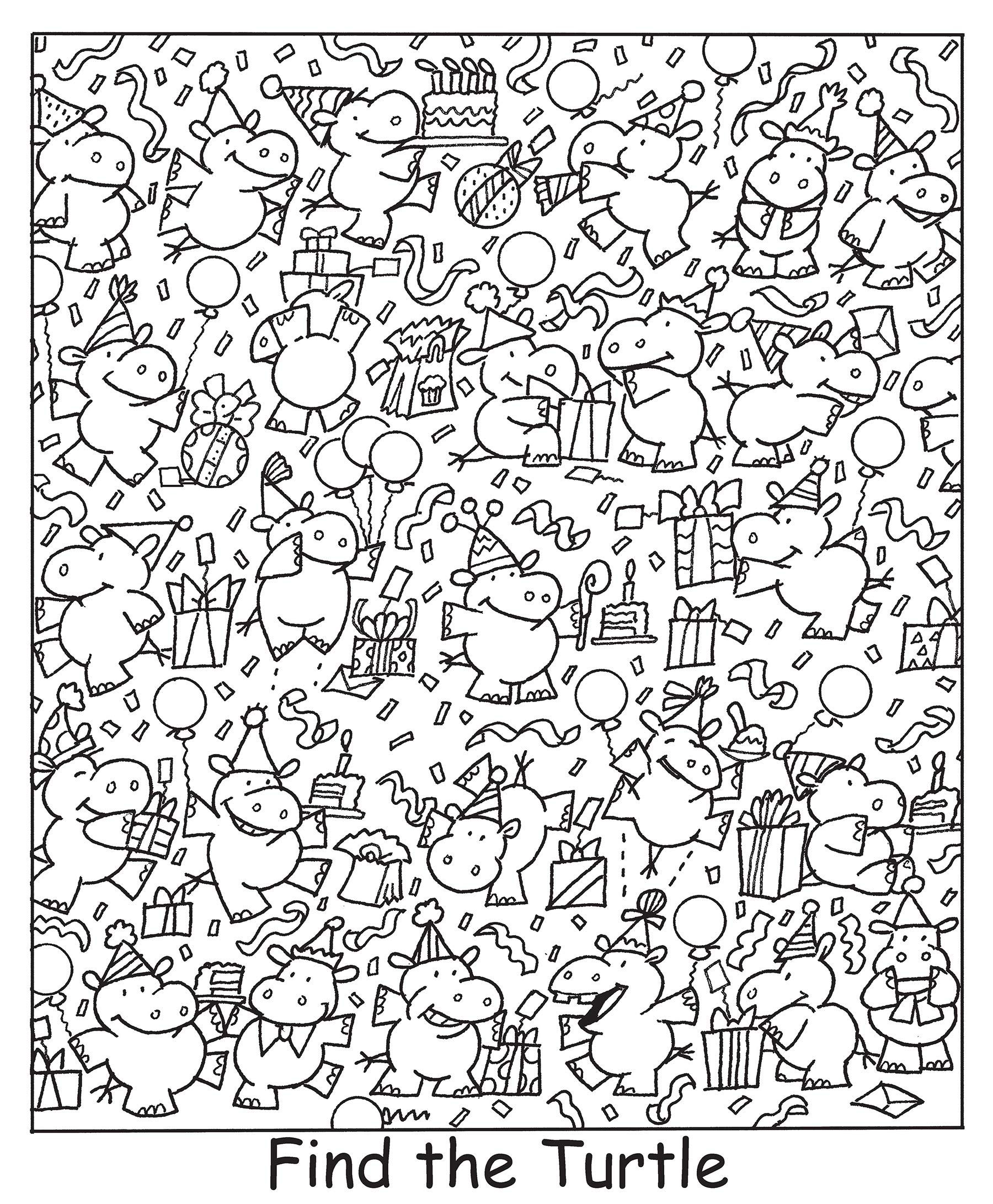 Find The Turtle Coloring Pages Cool Coloring Pages Colouring Pages