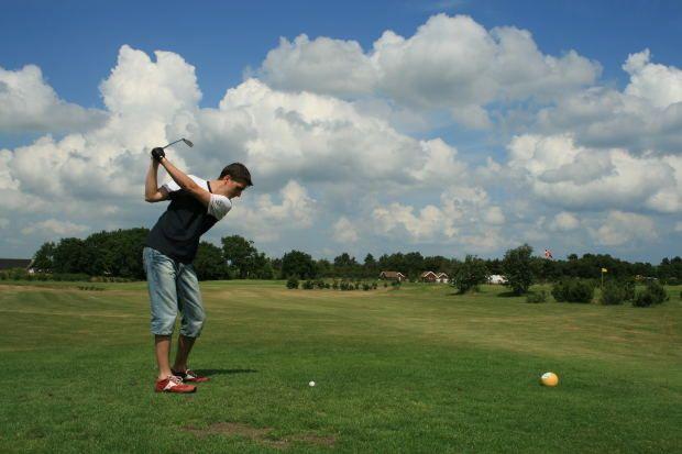 golf artificial turf Golf equipment, Golf, Soccer field