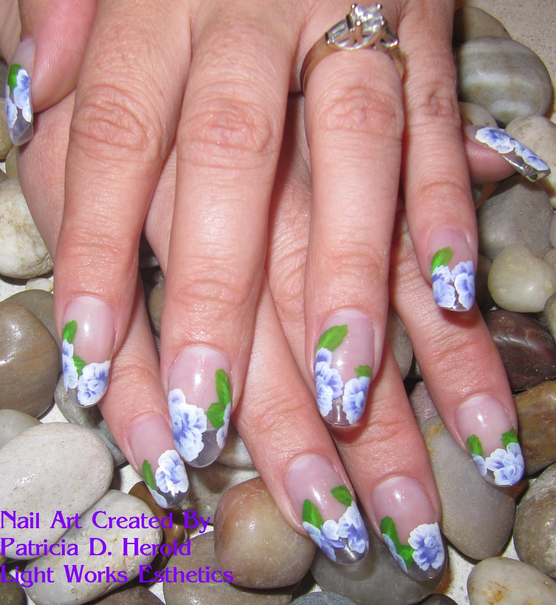 One Stroke Nail Art   Nail Art   Pinterest   Nail art, Diff\'rent ...