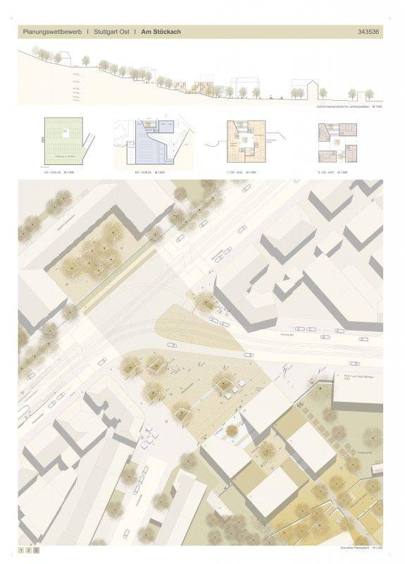 Landschaftsarchitekt Stuttgart 1 preis nach überarbeitung harris kurrle architekten stuttgart