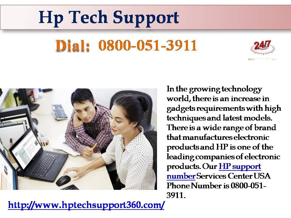 The better Support via 08000513911HP technical support