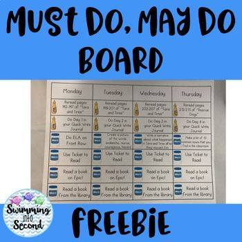 Must Do, May Do, Catch Up editable template (freebie) Education