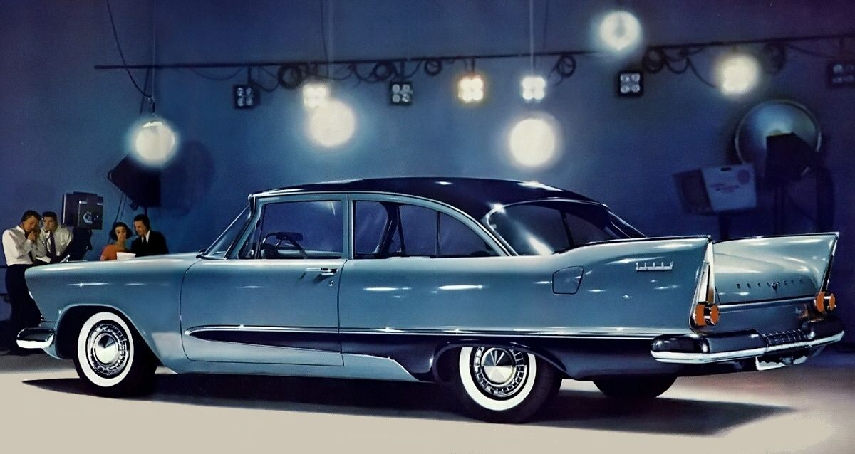 "madmen60 "" 1957 Virgil Extner Plymouth Savoy Coupe"