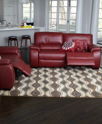 Marchella Leather Sofa Living Room Furniture Sets Amp Pieces
