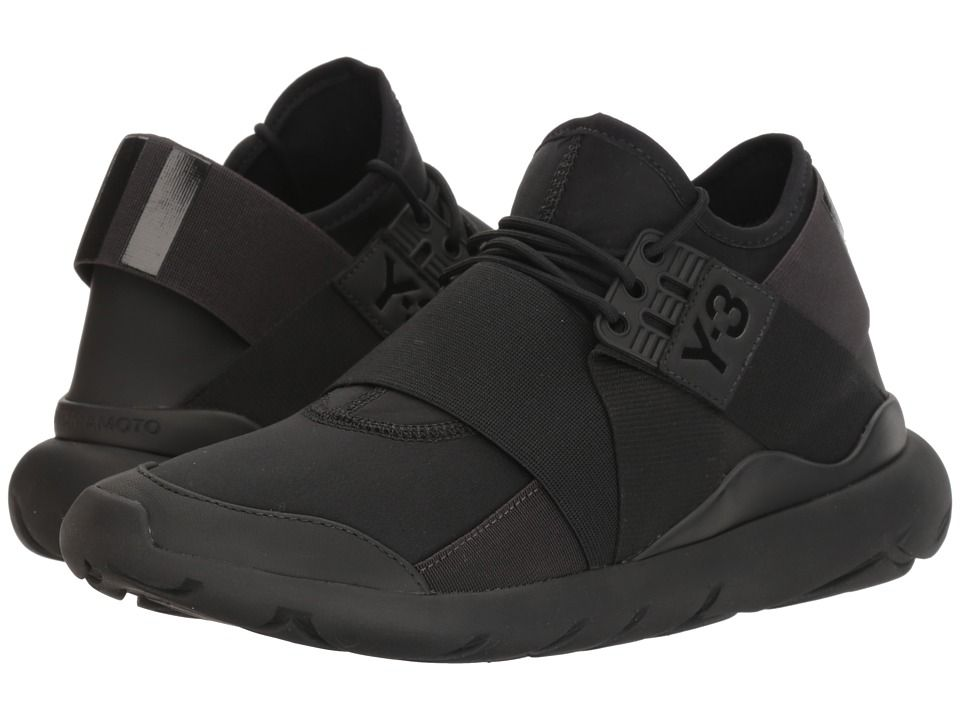 88268452e3c3 adidas Y-3 by Yohji Yamamoto Y-3 Qasa Elle Lace Women s Shoes Core Black Utility  Black Core Black