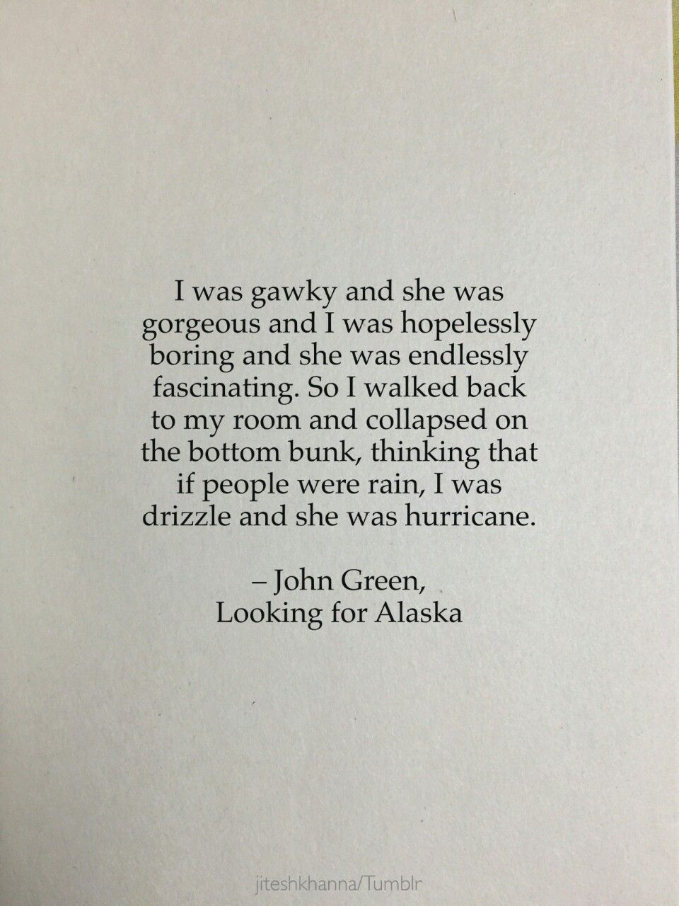 Bambitaughtme looking for alaska quotes looking for