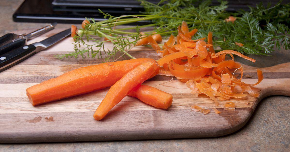 How to Keep Peeled Carrots Fresh Carrots, Healthy snacks