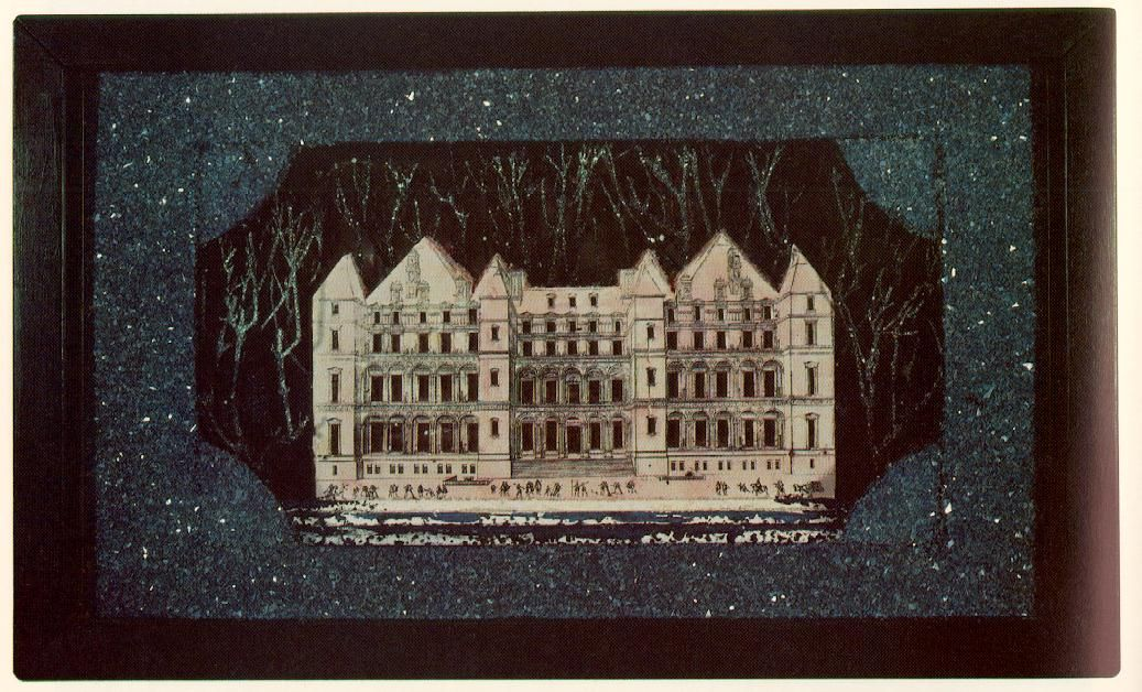 Pink Palace, 1948, Joseph Cornell | Mixed Media | Pinterest