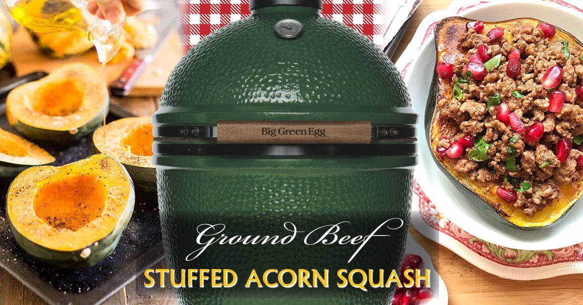 Ground Beef Acorn Squash Acorn Squash Ground Sirloin Grilling Recipes