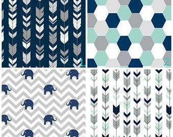 Boy Nursery Curtains Arrow Curtains Elephant Curtains Navy Blue Geometric  Curtain CUSTOM Spoonflower Curtain Panel Set Boy Curtains Set Of 2    Pinterest ...