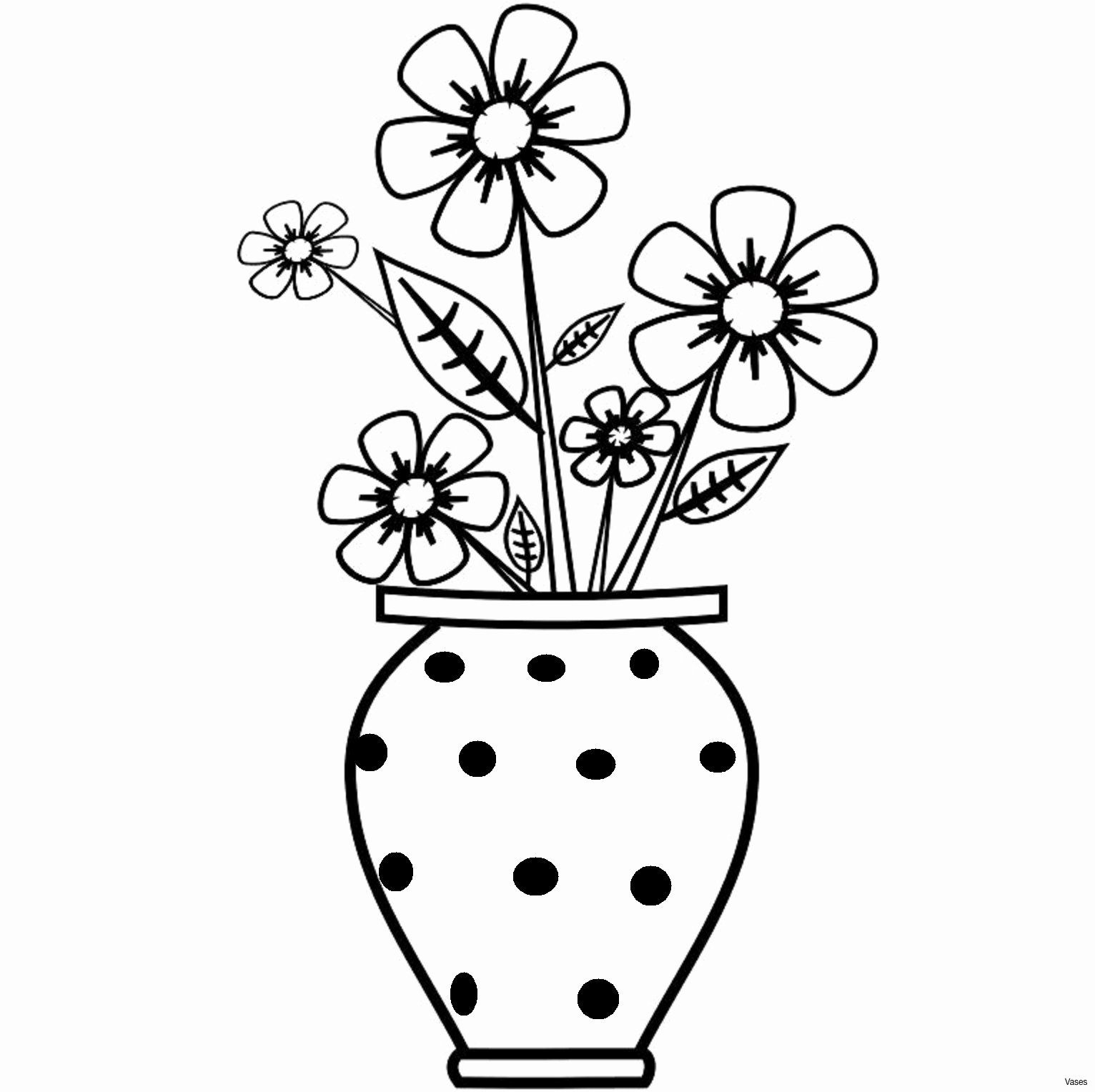 Coloring 8 Flowers Best Of Vase Pencil Drawing At Getdrawings In 2020 Flower Drawing For Kids Easy Flower Drawings Flower Vase Drawing
