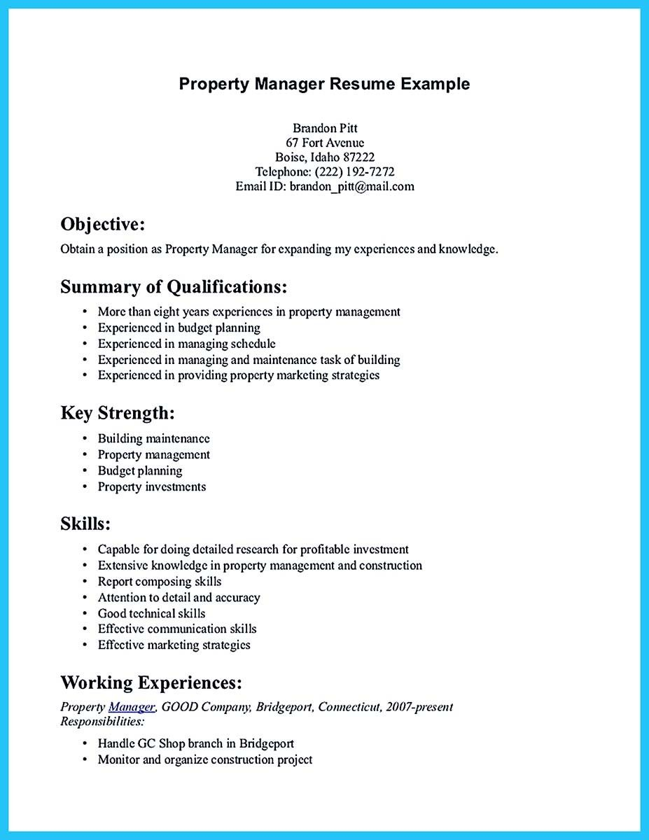 awesome Writing a Great Assistant Property Manager Resume, Check ...