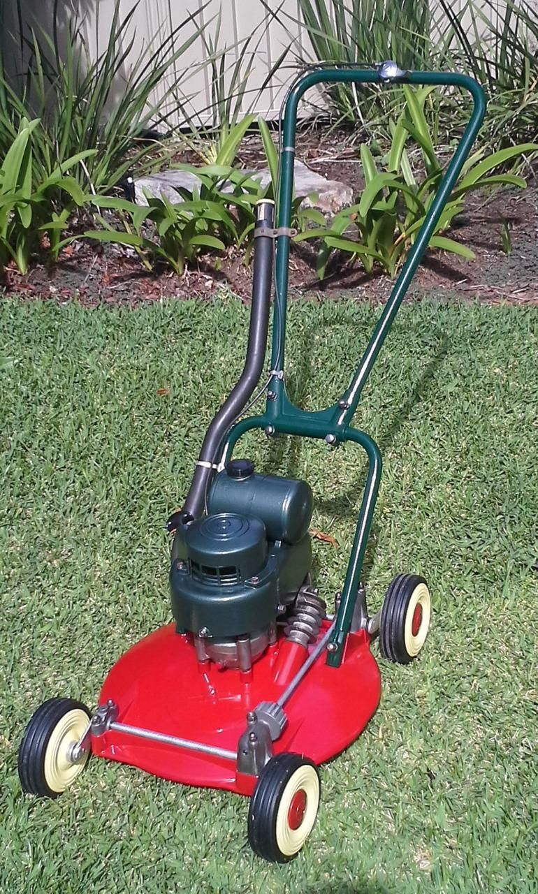 Victa Model 5 Store Brand - not seen before ?   Victa Lawn Mower ...