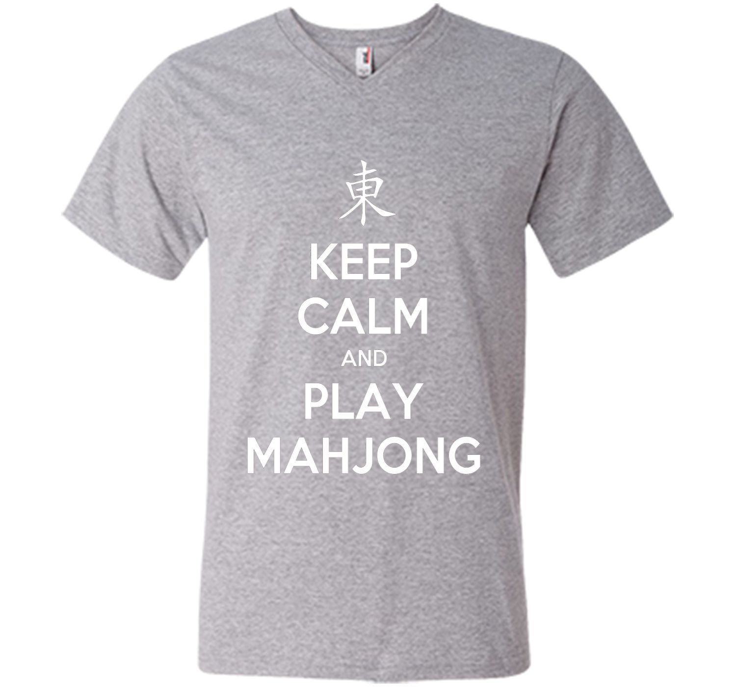 Keep Calm And Play Mahjong T-Shirt