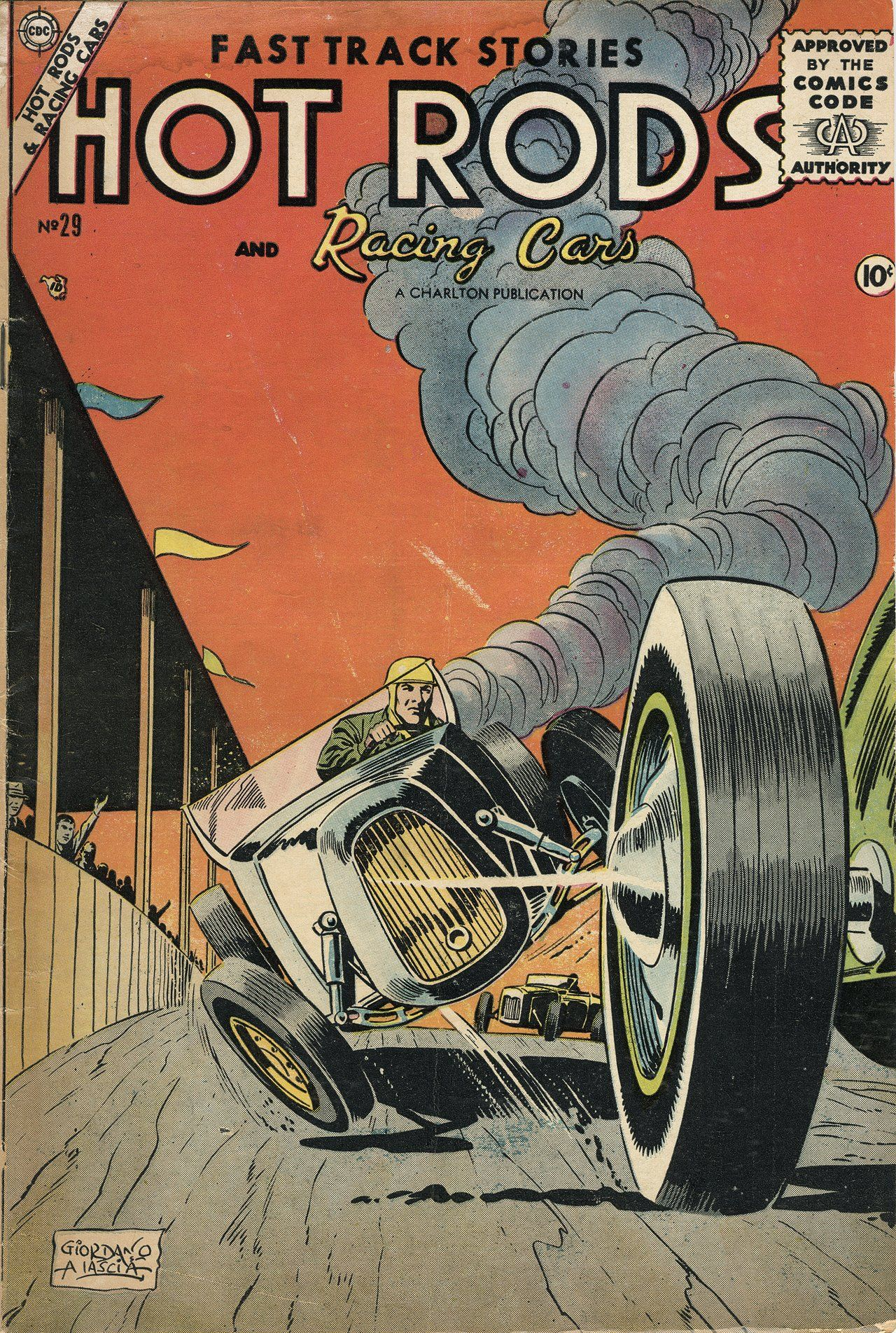 Digital Comic Museum Viewer: Hot Rods And Racing Cars 029 c2c - Hot Rods And…