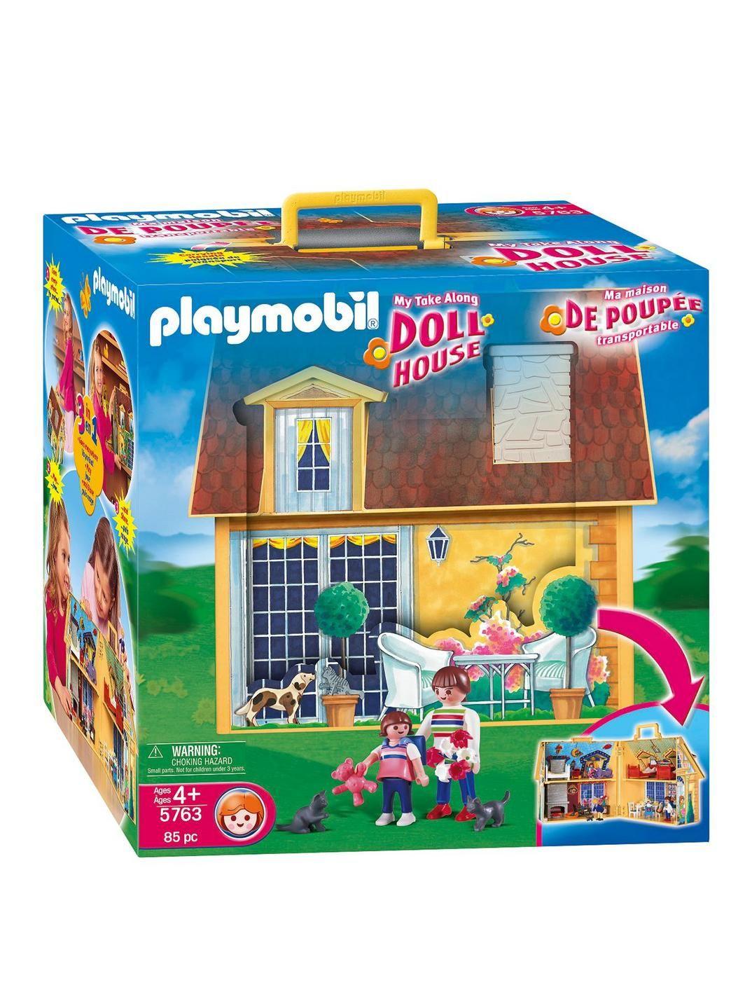 Playmobil 5167 My Take Along Dollhouse Doll House Playmobil Dolls