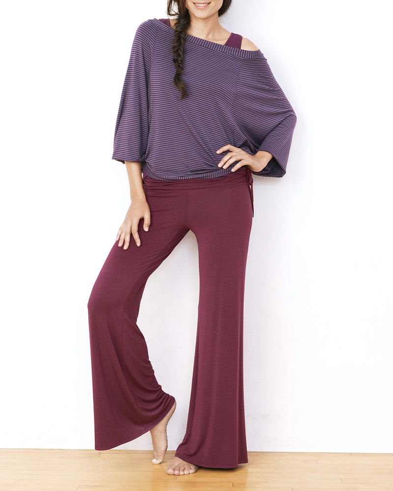 Side Ruched Palazzo Pant - IntiMint  Enter Code: ENTIRE50 for 50% off