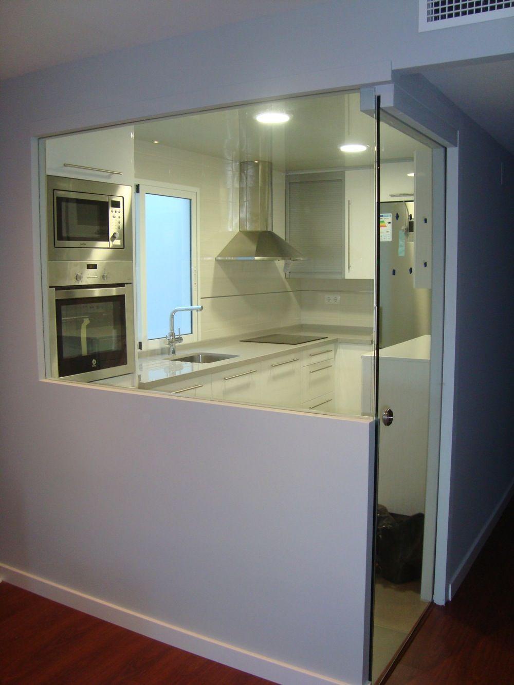 Pladur y cristal buscar con google ideas en 2018 - Cocina con pared de cristal ...
