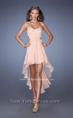 La Femme 19716 - NewYorkDress.com White for reception?