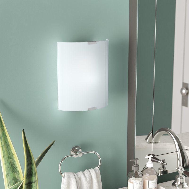 Latitude Run Ernestina 1 Light Flush Mount Reviews Wayfair Light Sconces Dimmable Light Bulbs