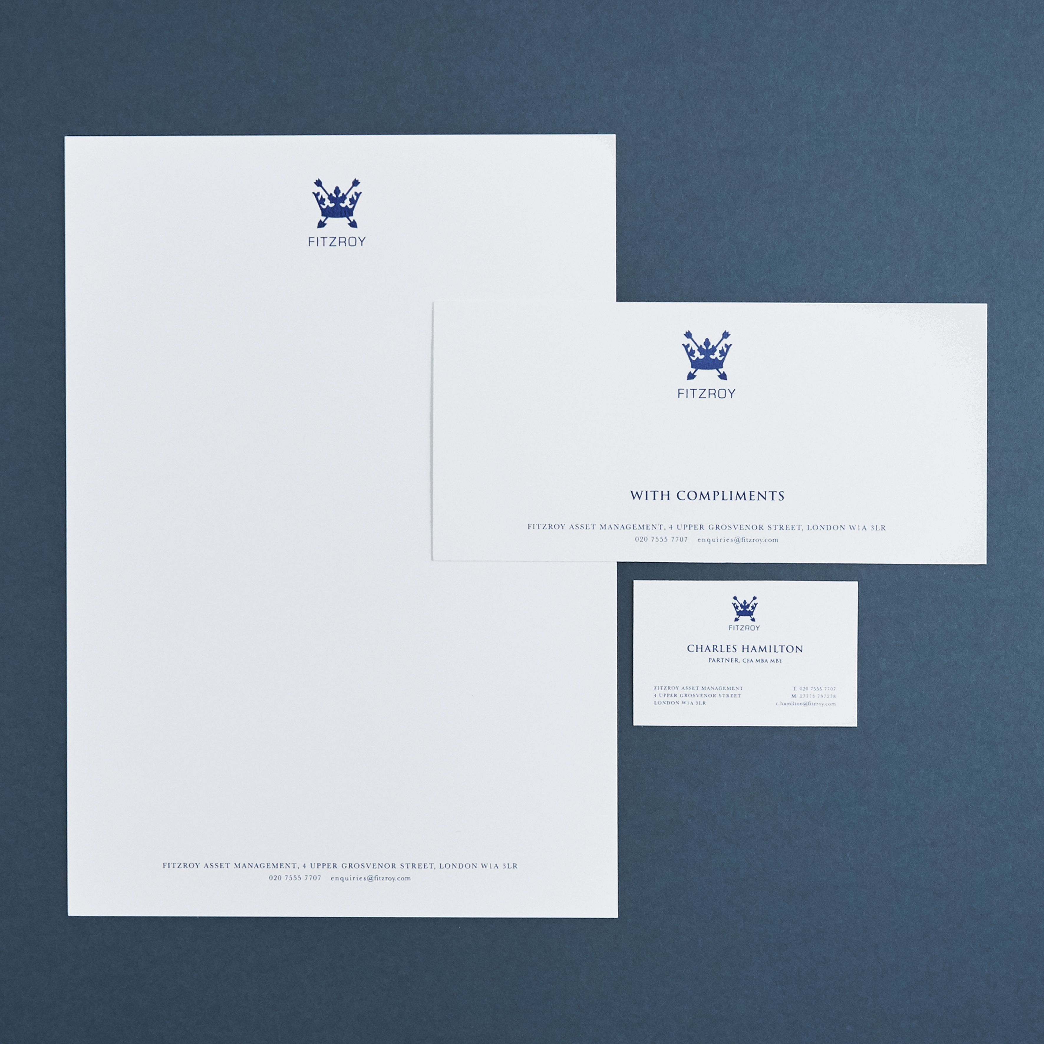 Harmsworth Fine Stationerybusiness Cards Letterheads And With Compliments Slips Business Stationery Compliment Cards Stationery Set