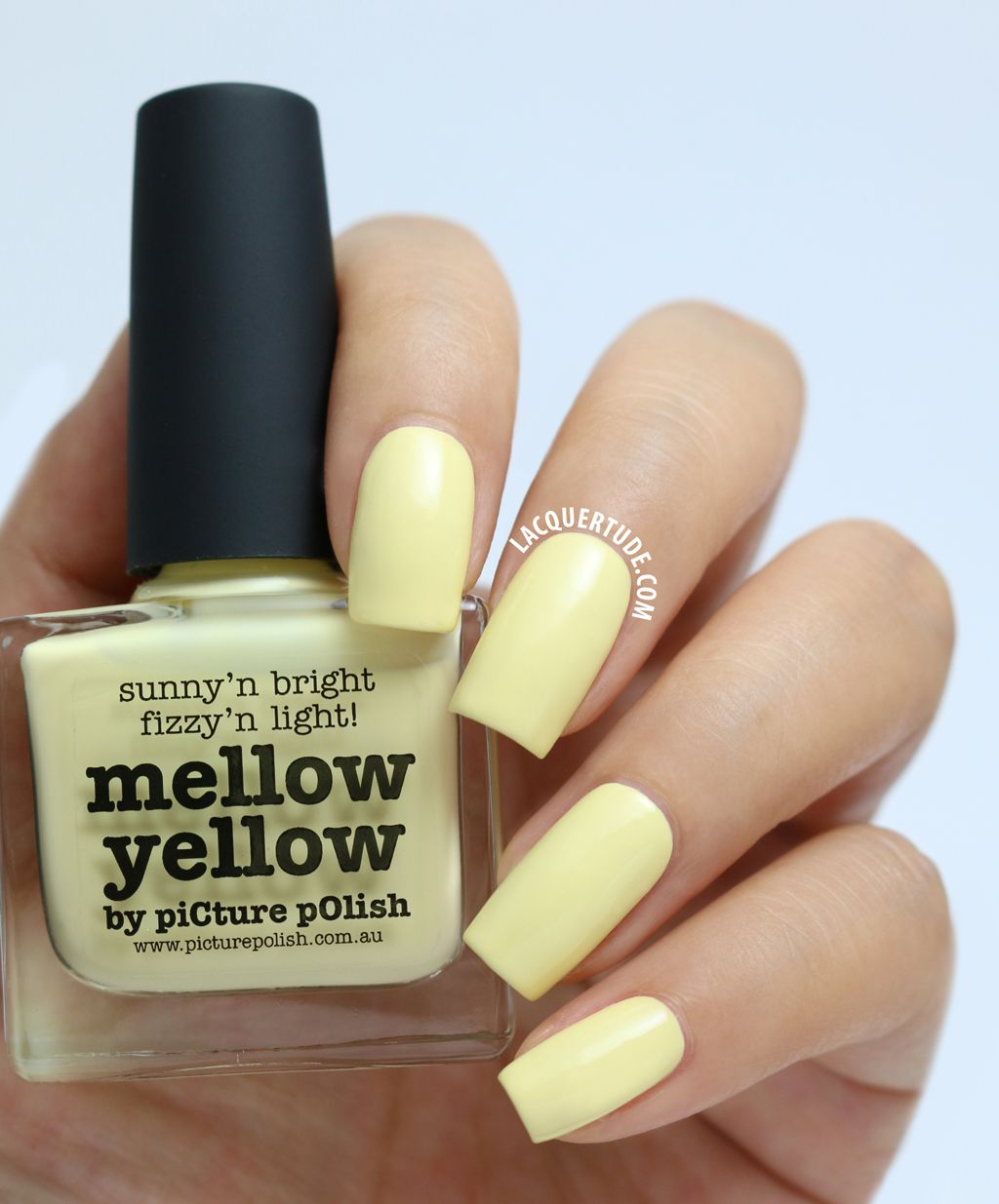 Picture Polish Swatches Mellow Yellow Teaser Fall Nail Art Autumn Nails Falling