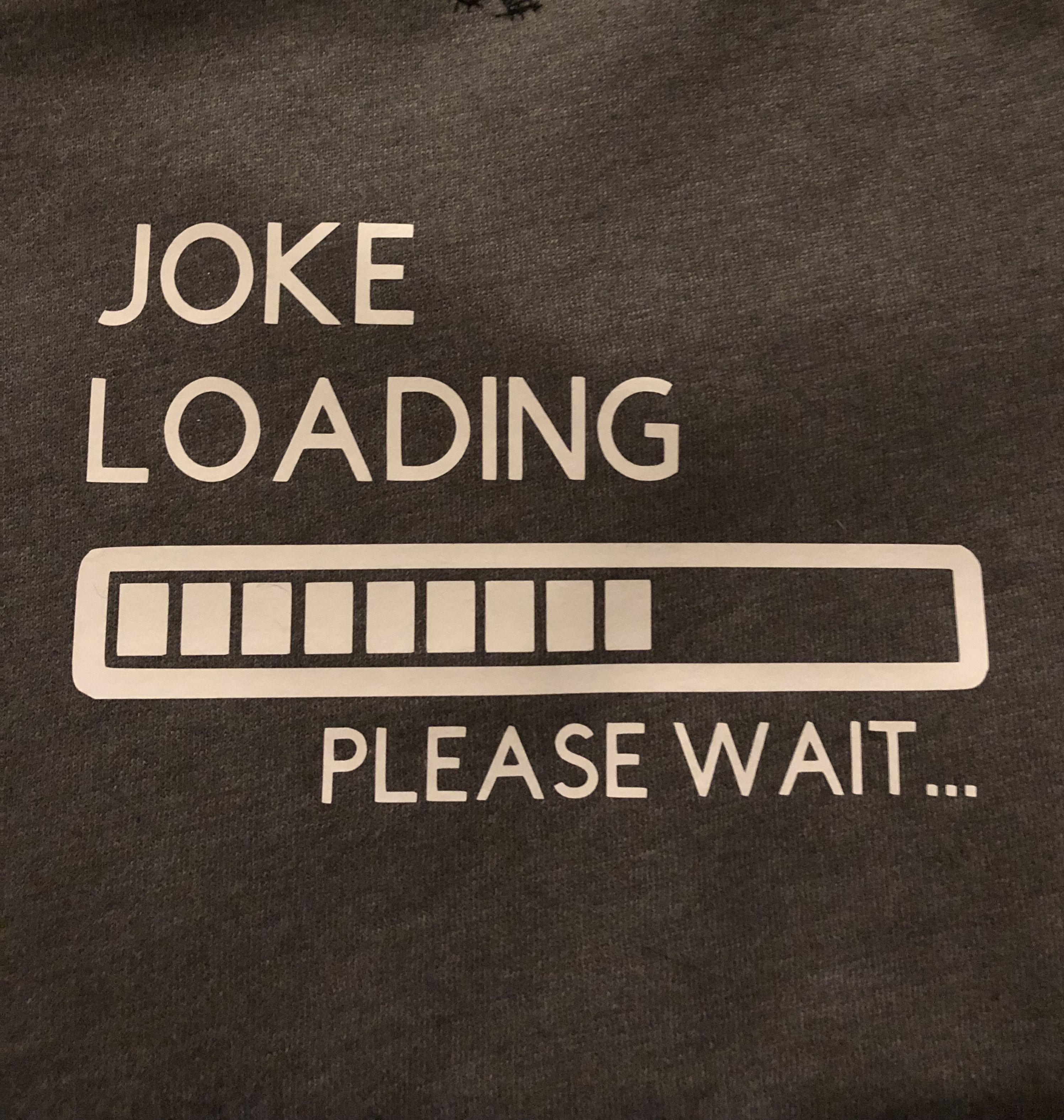 Joke Loading Decal Jokes Vinyl Decals