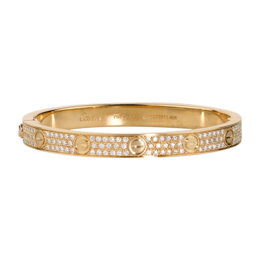 e8feef18124 Cartier Love Bracelet in yellow gold and diamonds  37