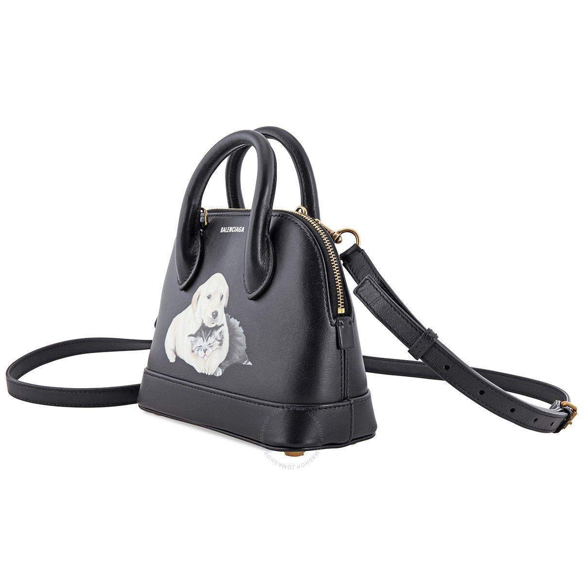 Balenciaga Ladies Puppy And Kitten Ville Top Handle Bag Balenciaga Handbags Jomashop In 2020 Bags Balenciaga Clutch Balenciaga