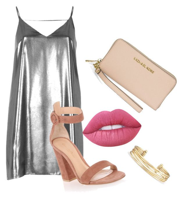 💀💍🐩🌸 by supaaaawomen on Polyvore featuring polyvore, mode, style, River Island, Gianvito Rossi, Michael Kors, Stella & Dot, Lime Crime, fashion and clothing