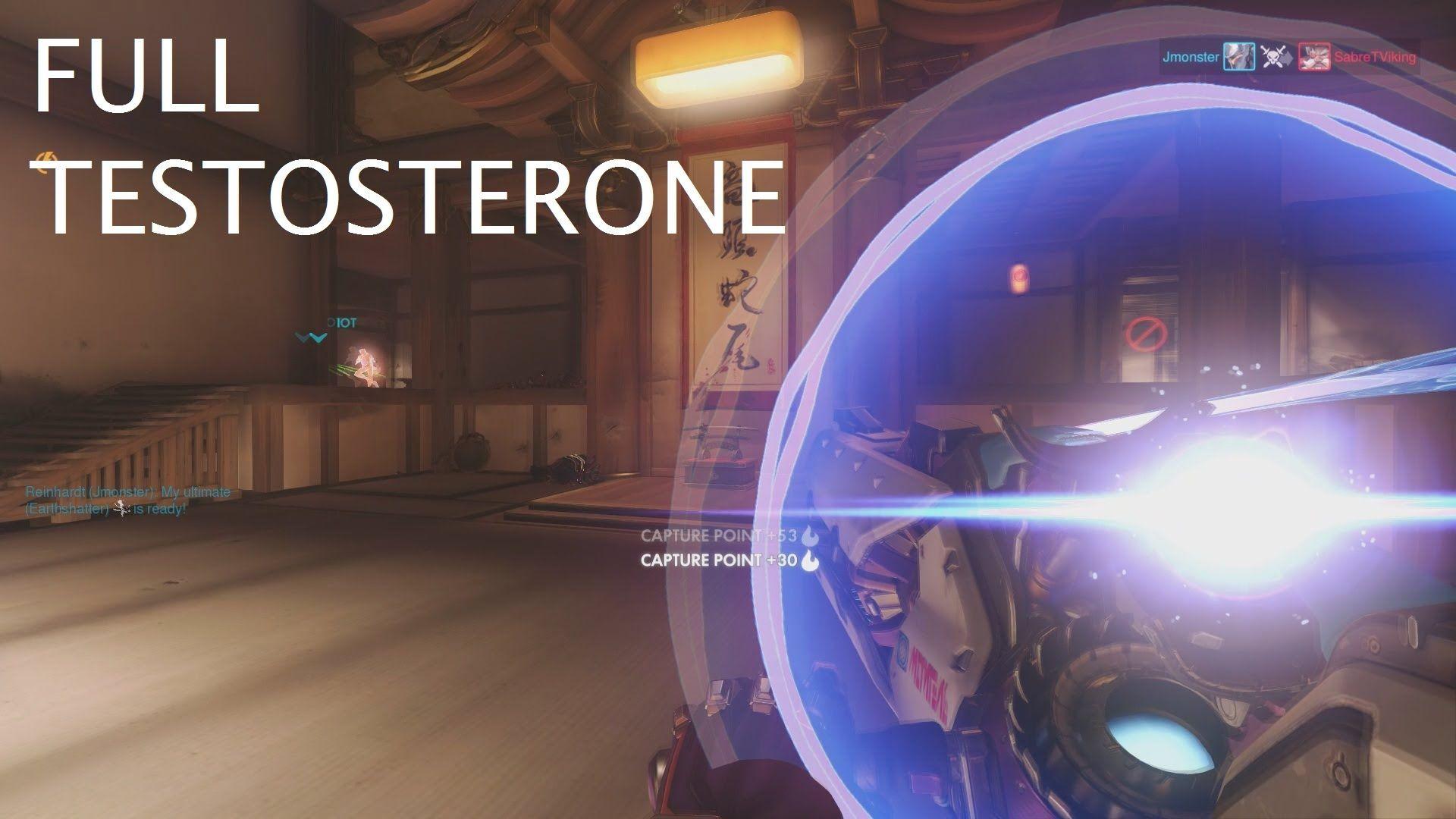 OVERWATCH- Full Testosterone Zarya