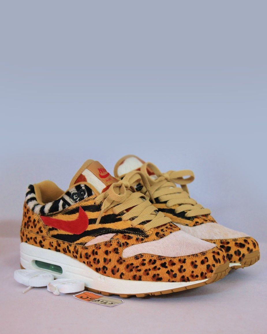 reputable site 3f0ad 62f1e Cheetah print AIR Nike Nike Motivation, Air Max 1, 나이키 에어맥스, 운동화