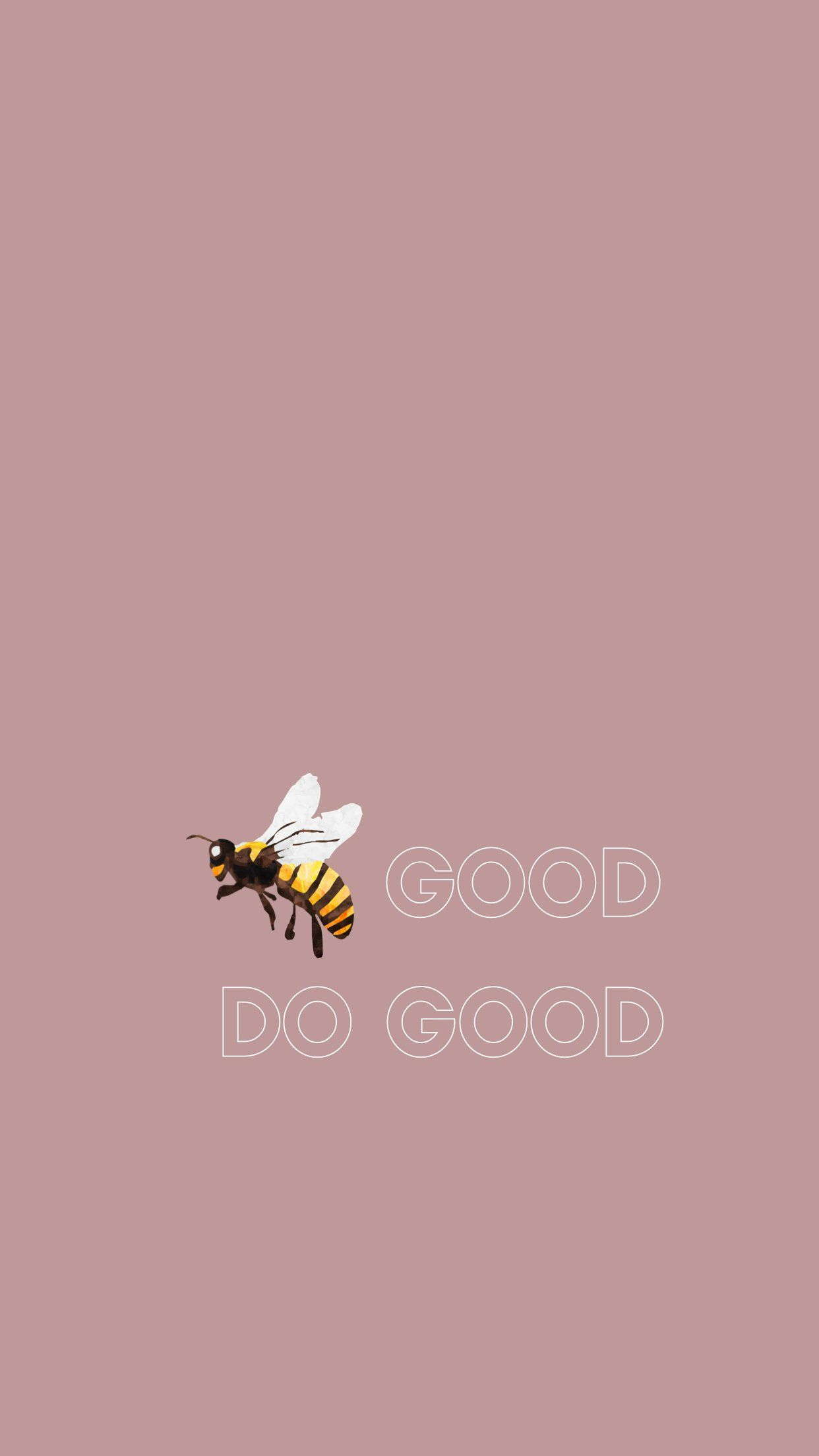 Bee Good Do Good Arvo Wallpaper Be Good Do Good Arvo